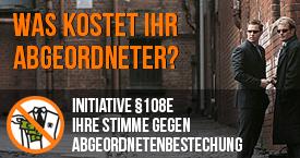 Initiative §108e